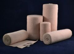 Ambra Le Roy - 73450 - Economy Elastic Bandage, (Stretched) with Standard Clips Latex Free (LF) (Not Available For Sale Into Canada)
