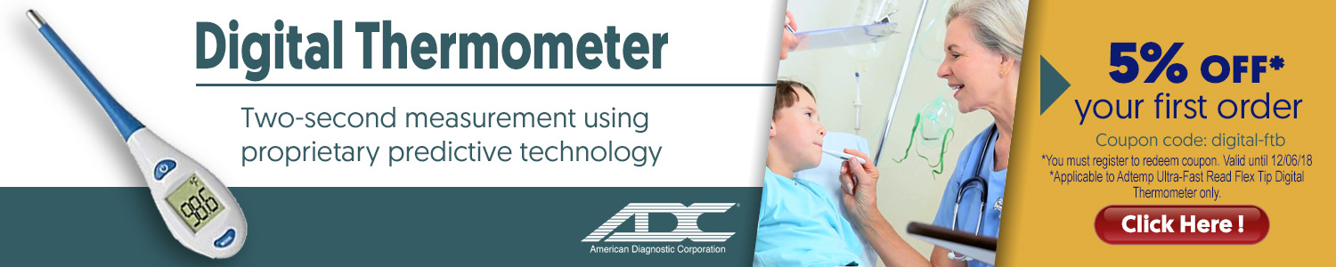 ADC Digital Thermometer - WoundTX.com